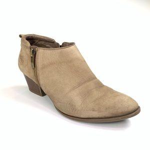 Franco Sarto Leather Heeled Bootie